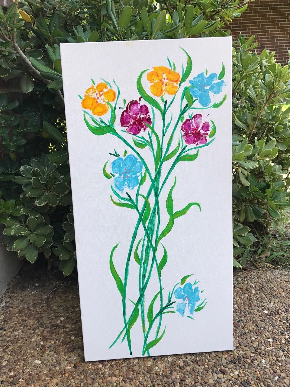 Paw Print Flowers. By Carolina Orsi, M1.