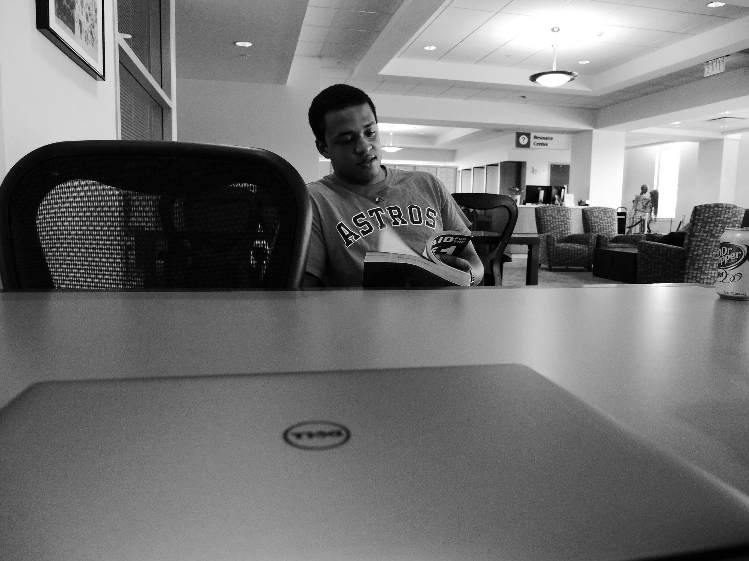 Seriously Studious Studiers Studying Studiously. By Rahul Dhuka, M2.