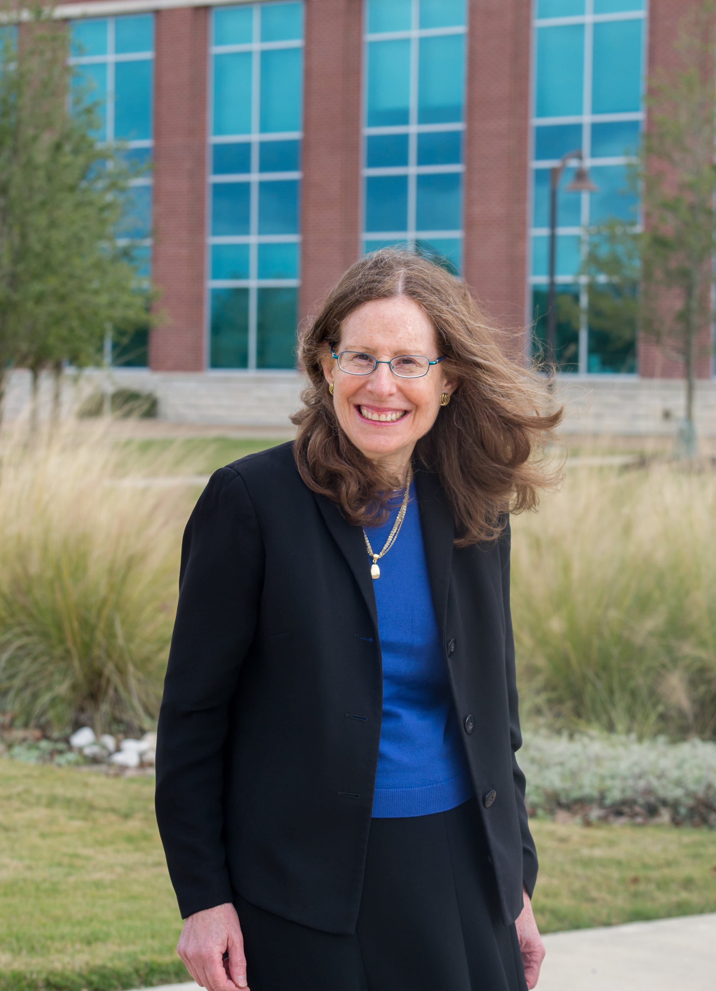 Barbara Gastel, MD, MPH faculty member and editorial mentor for  The Synapse . Photo by Sarah Fulton, M2.