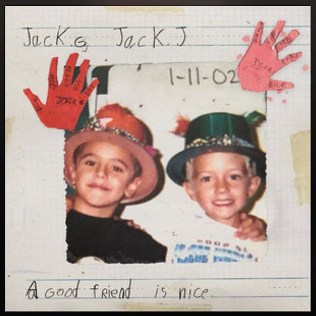 A humongous congratulations to @jackandjack for the release of their first full length album 'A Good Friend Is Nice' !! Go give it a listen, this album is super super heavy.