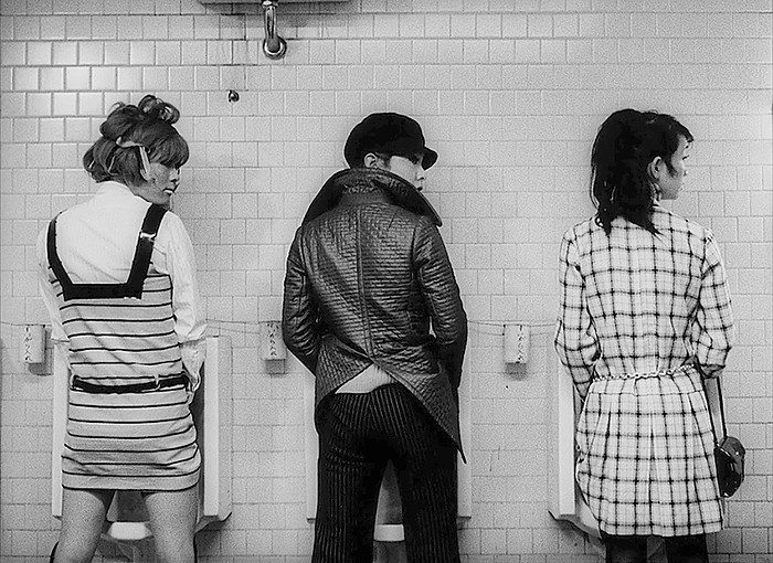 Toshio Matsumoto's  Funeral Parade of Roses  (1969).