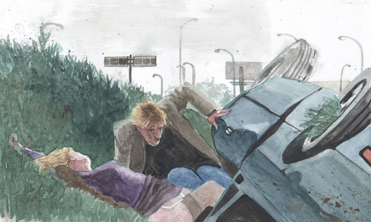 Crash  illustrated by Christianne Benedict.