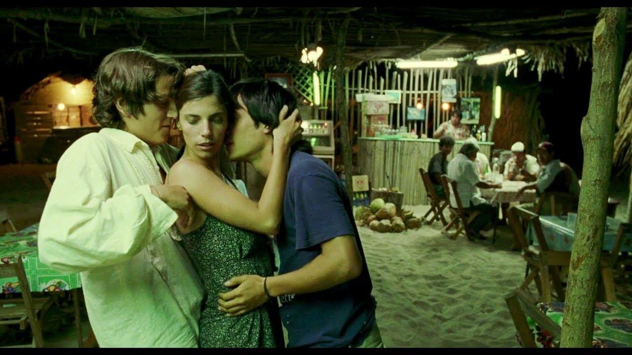 Three's company: Tenoch (Diego Luna), Ana (Ana Lopéz Mercado), and Julio (Gael García Bernal) in Alfonso Cuarón's  Y Tu Mamá También  (2001).