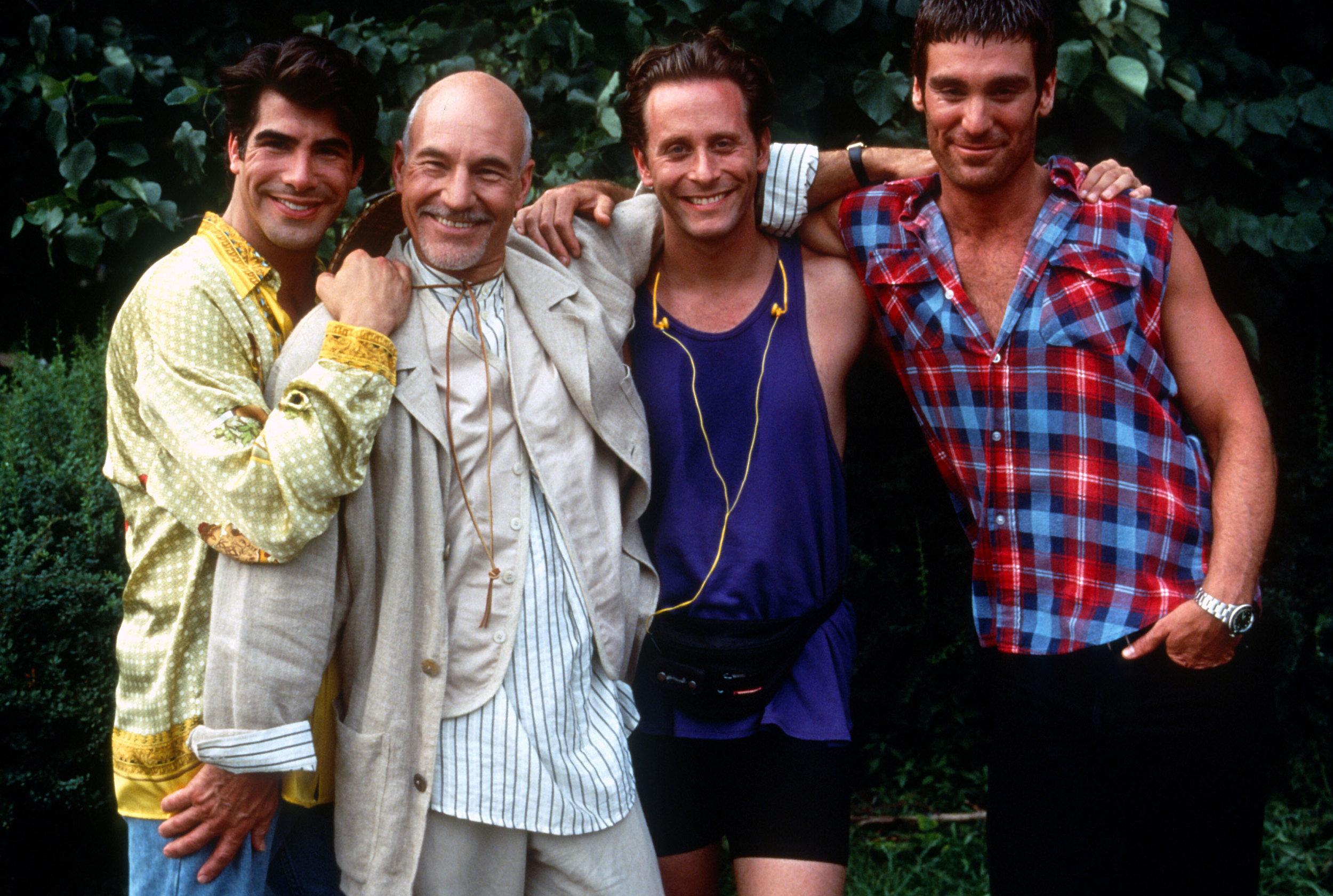 The cast of Christopher Ashley's  Jeffrey  (1995).
