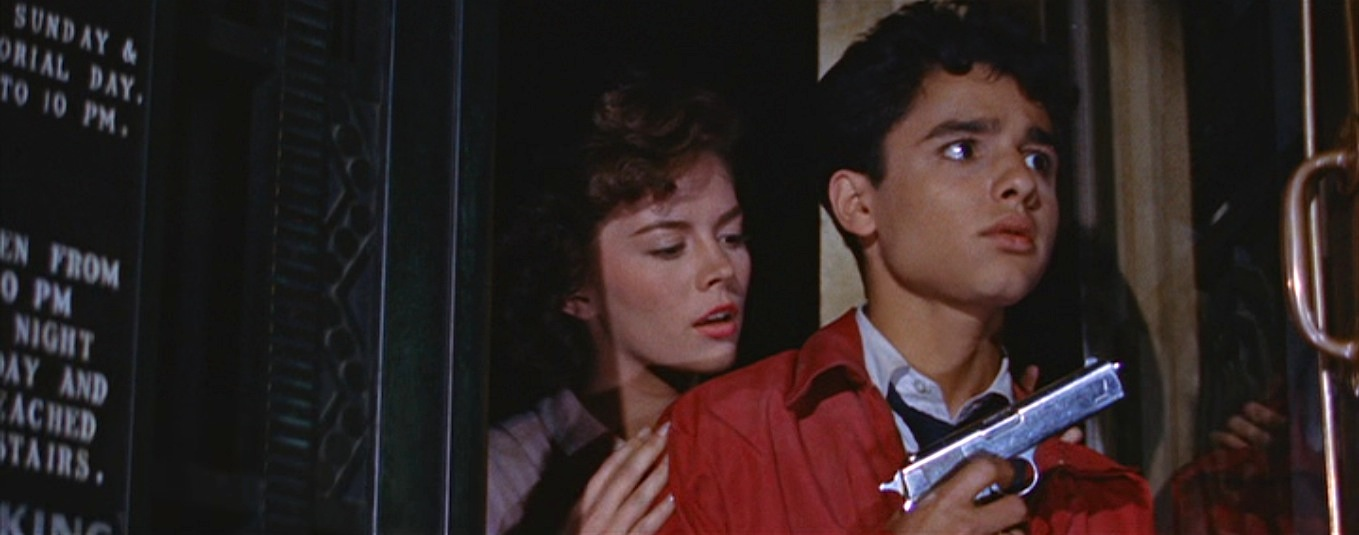 Judy (Natalie Wood) & the ill-fated Plato (Sal Mineo) at the Griffith Observatory in Nicholas Ray's  Rebel Without a Cause  (1955).