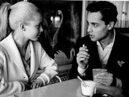Jill Haworth & Sal Mineo.