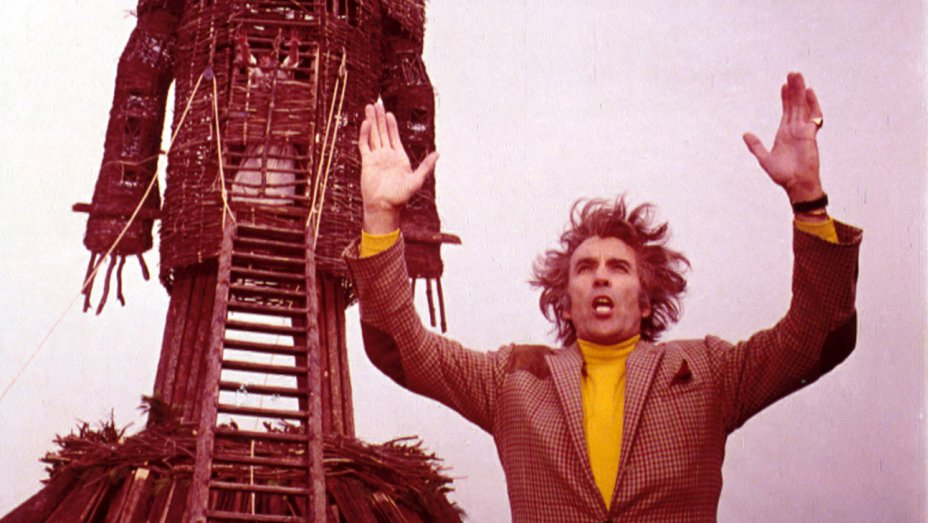 """And The Apple Tree Languisheth"": The Sensual Martyrdom Of Neil Howie In THE WICKER MAN - by Peg Aloi""But, as he faces his untimely demise, it's clear that something has shifted in Neil Howie. There is fear and dread, but also a heightened awareness, perhaps catalyzed by all of the sensual acts he has witnessed on Summerisle. At the hour of his death, his desperate cries are full of heat and emotion, and his sense of decorum is shattered. Lord Summerisle mentions that, because of Howie's religious devotion and beliefs, he will receive 'a rare gift these days: a martyr's death.'"""