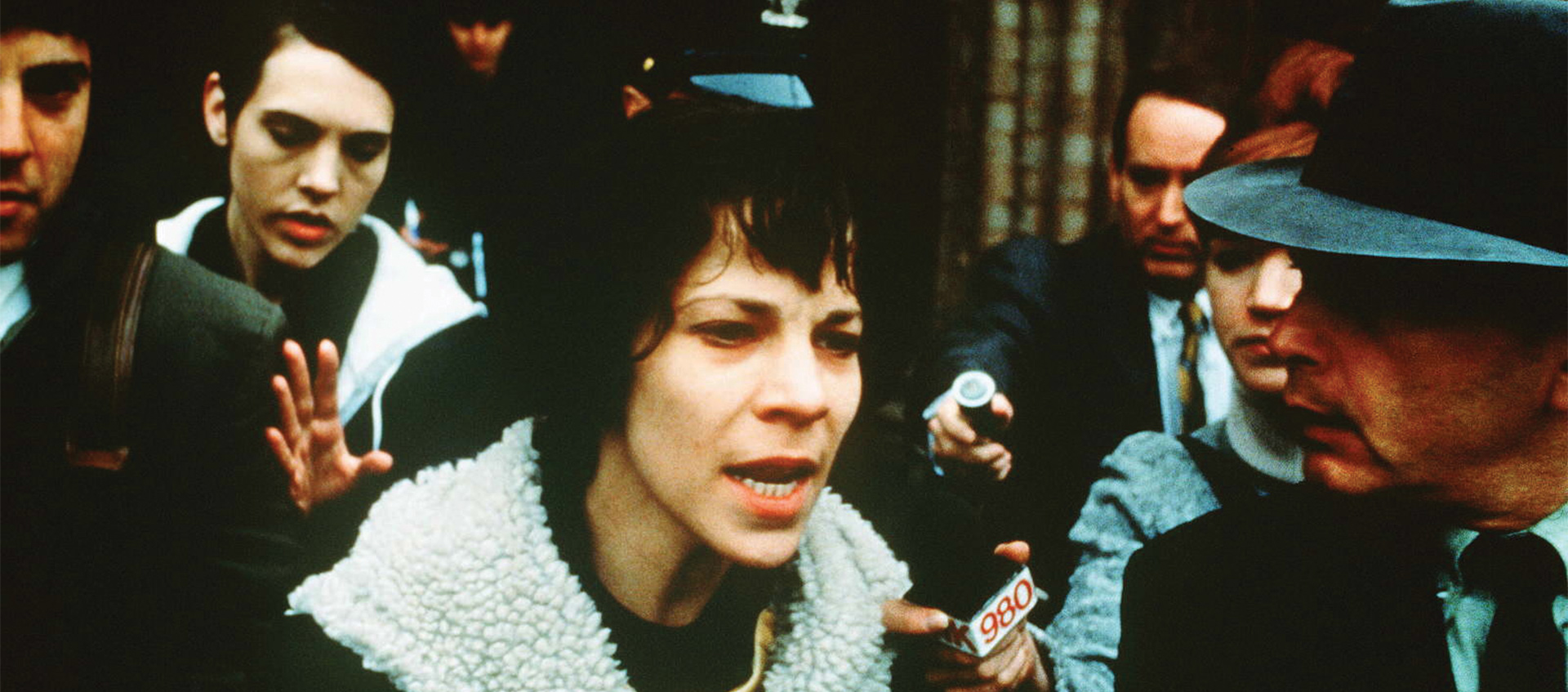"Valerie Solanas Wants to Be Seen in I SHOT ANDY WARHOL - by Vincent Bec""Valerie's quest for fame is a seeking of validation. If her ideas are spread and accepted, her identity can be too. However, her attempted journey to fame is put entirely into the hands of men. Girodias is her only hope at spreading her words through a published book. Warhol is her only hope at spreading her play. When she goes on television to spread her word she is set up with the show by Danny. The show's host is also a man. Men have taken things from Valerie her whole life from her father's molestation to the johns who sleep with her. Warhol, Girodias, and the talk show host are no different, they use her for their own entertainment and an increase in their own notoriety."""
