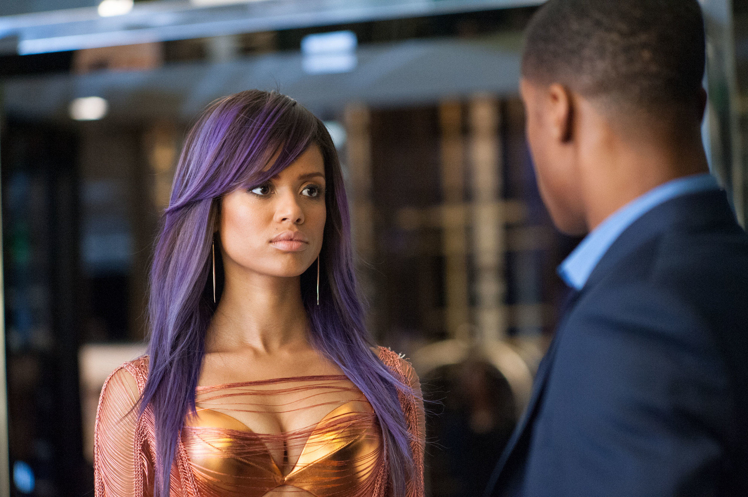 "Undoing: Negotiating Fame And Self-Care In Gina Prince-Blythewood's BEYOND THE LIGHTS - by Eleanor Igwe""We see just a few glimpses of Noni's life, but it is apparent that every aspect of her career and appearance is constructed and that she's enmeshed with a mother who's poured every fiber of her being into making Noni a success. Noni does not have emotional or physical freedom, even down to what she eats. […] This alienation from herself has made Noni suicidal and she tries to destroy her body as an expression of emotional pain […]"""