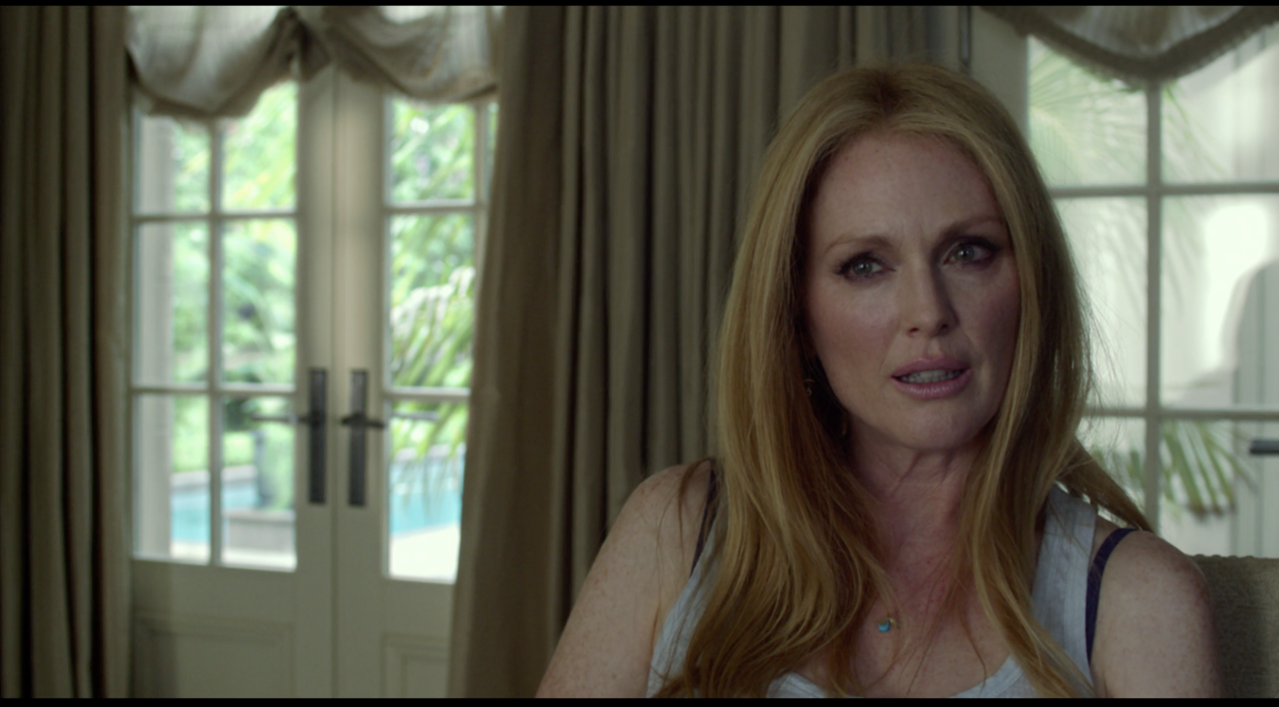 For contrast, Julianne Moore as Havana in  Maps to the Stars .