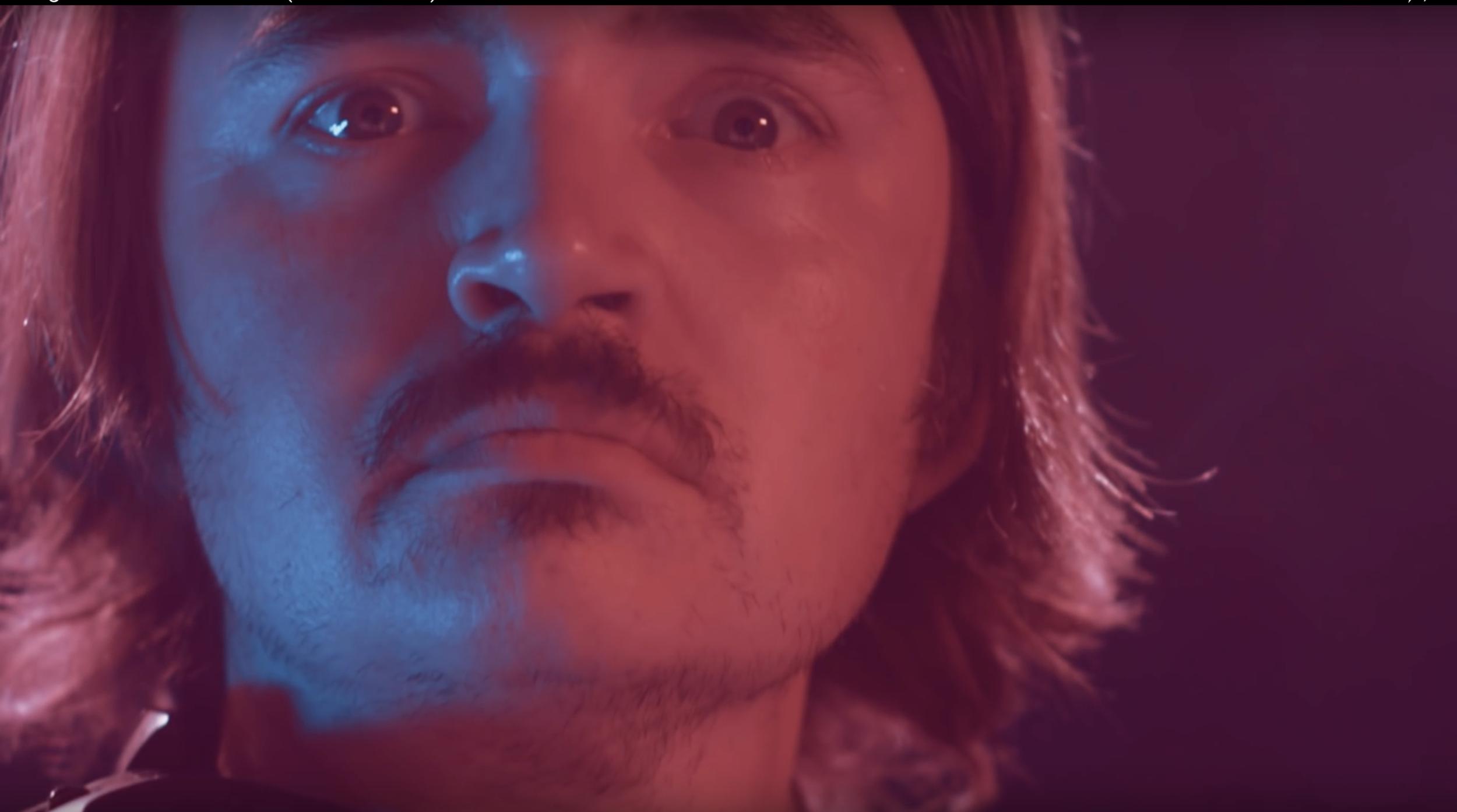 """A close-up showcasing the bi lighting in  """"Infinite Wave"""""""