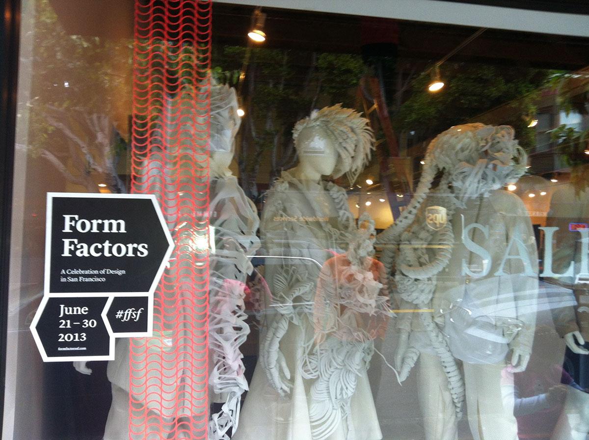 Form Factors.  San Francisco Design week. 2013.