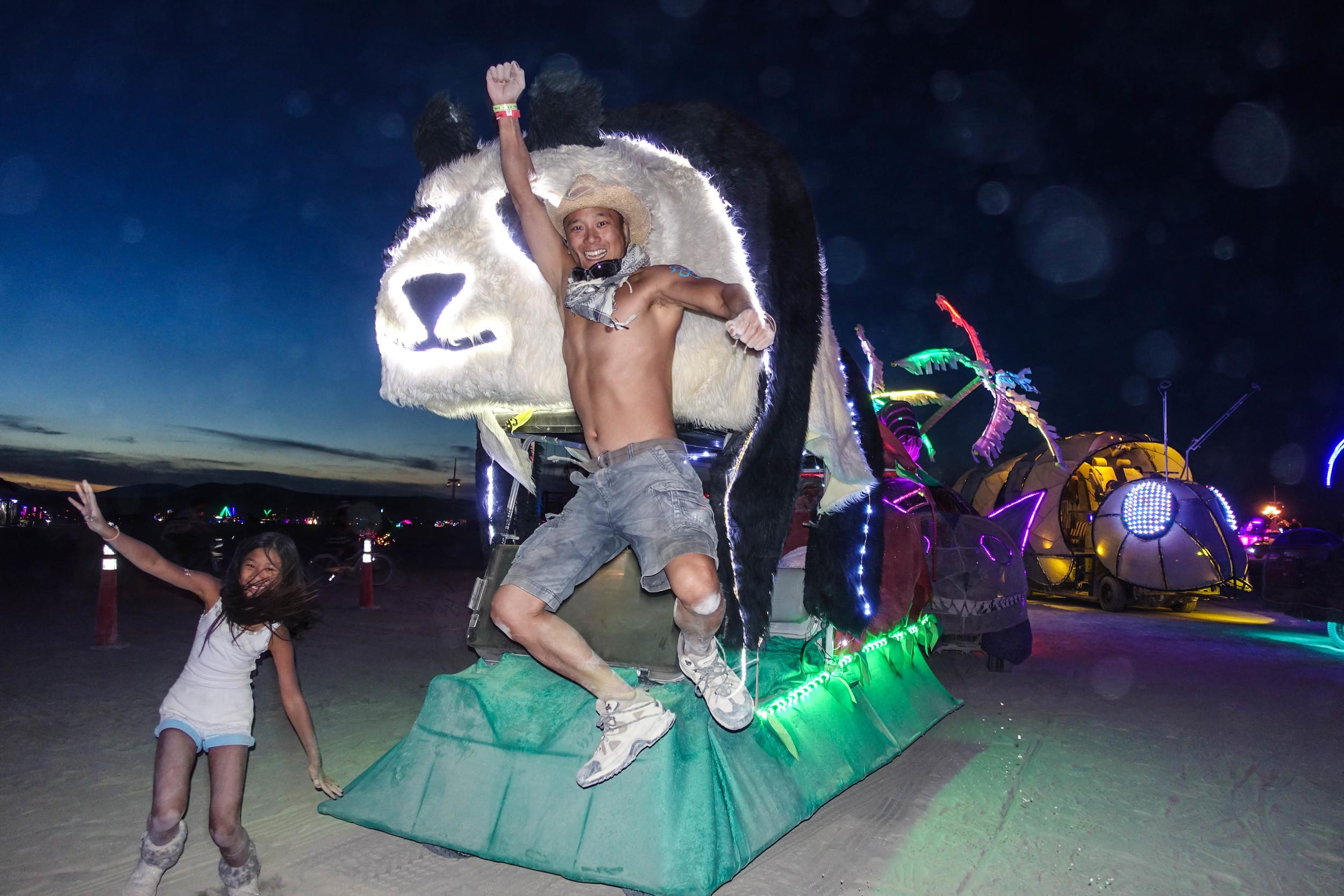 2015 Burning Man: Jamie, Eric and Derpy Version 2.0