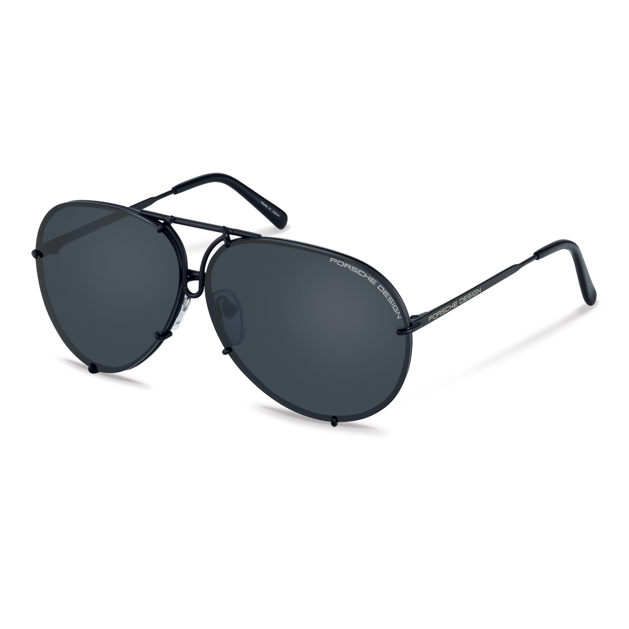 8478 D - Our most popular black on black stylethe 'Kris Jenner' framewith a silver interchangeable lens