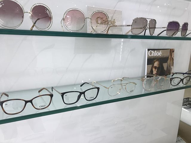 Geek chic 🤓 Chloe optical in store now ⚡️