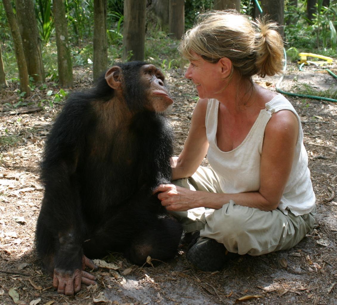 Director Allison Argo on location filming Chimpanzees, An Unatural History.jpg