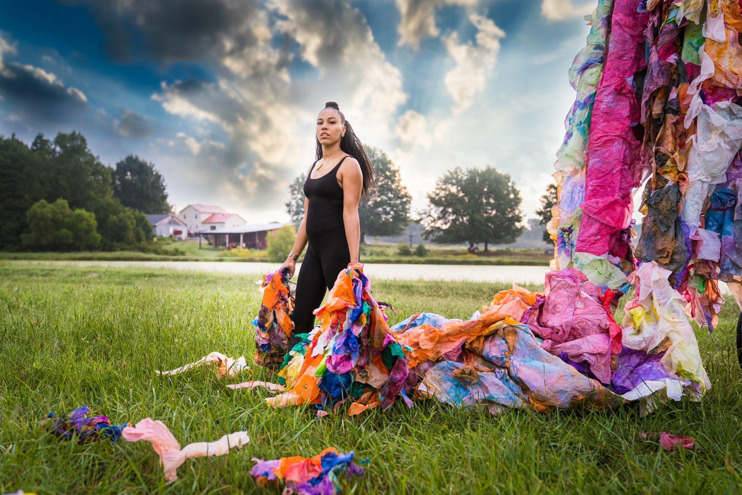 Oct/Nov 2019  Garden & Gun Magazine , Maya Freelon featured in  Book of Southern Women