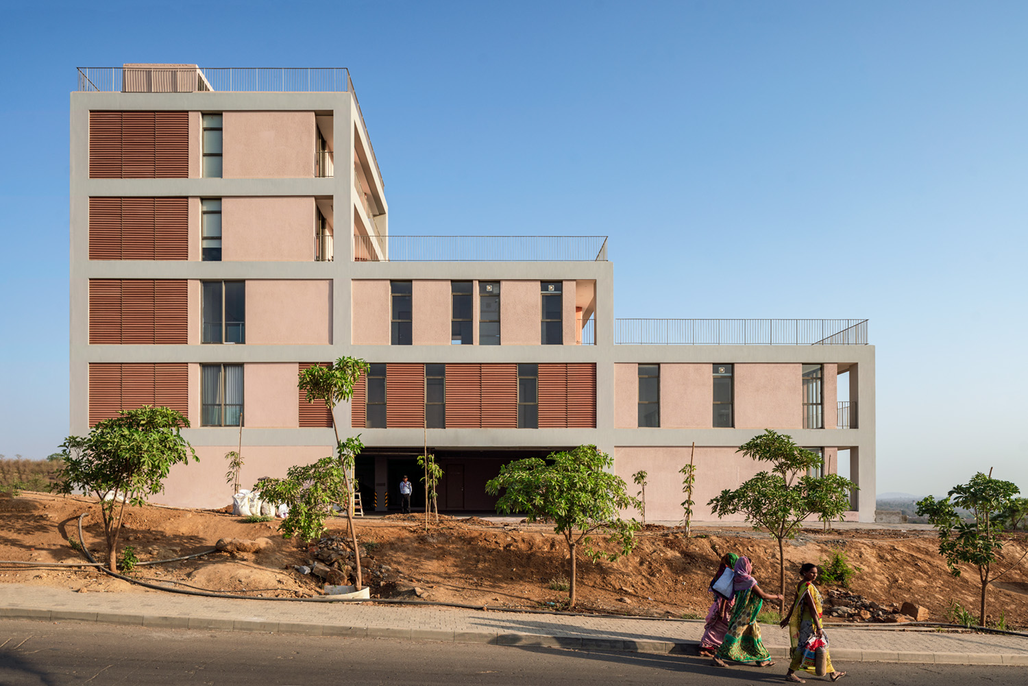 architect:  Serie Architects  location: Dharampur, India