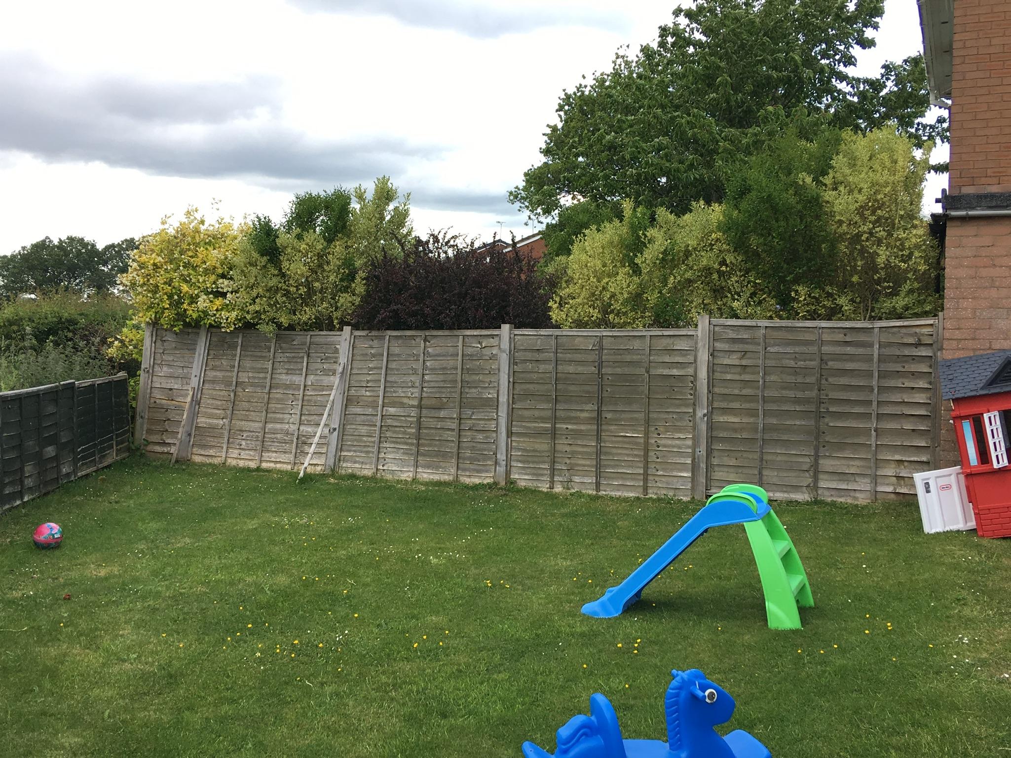 New fencing chirk, wrexham, Oswestry.JPG