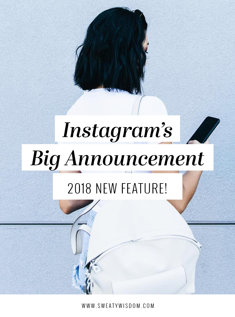Instagram's Big Announcement: 2018 New Feature! Instagram Scheduler - Instagram for Business - Hootsuite - Tailwind - Iconosquare - Social Media Strategy - Social Media Management