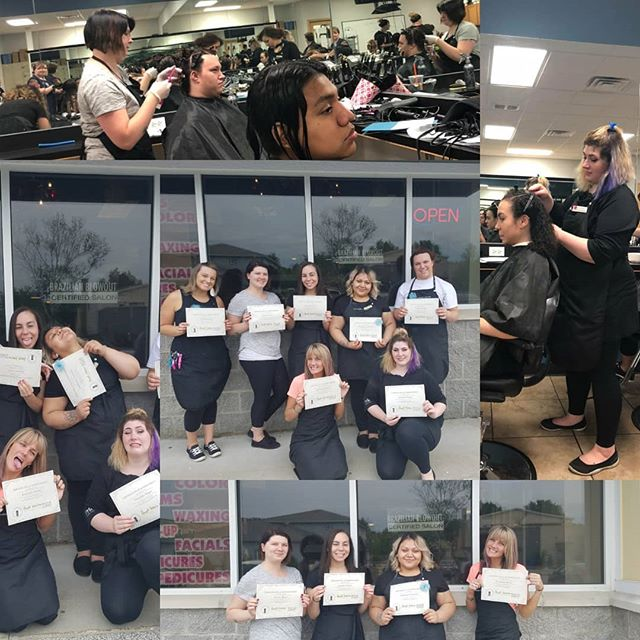 French Academy now offers #brazilianblowouts !!!!!! #brazilianblowout #brazilianblowoutcertified #fac #frenchacademyofcosmetology #frenchacademy #springlake #cosmetologystudent #coslife #hairstylist #love