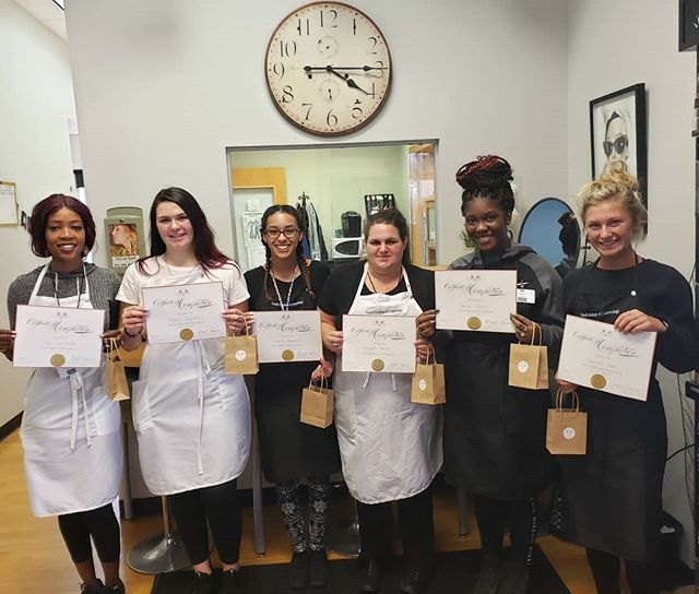 French Academy is proud to introduce our latest certified Limitedless eyelash Artists. Get Your Lushes Lashes On! #frenchacademy #lashes #eyelashextensions #cosmetologyschool