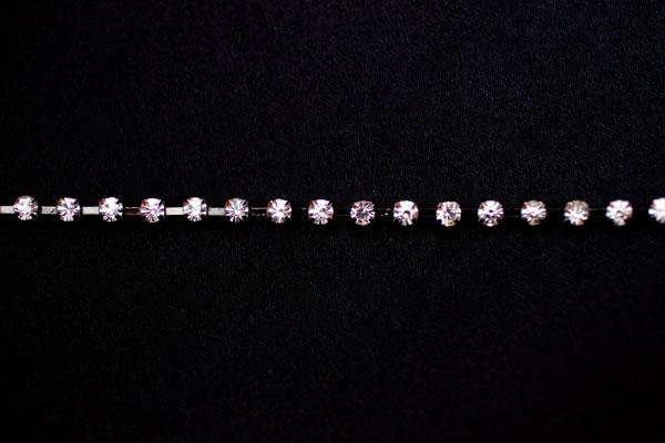 4mm Diamante Black