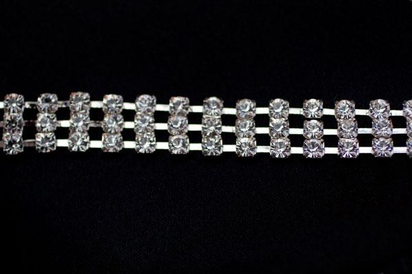 5mm Diamante 3 row