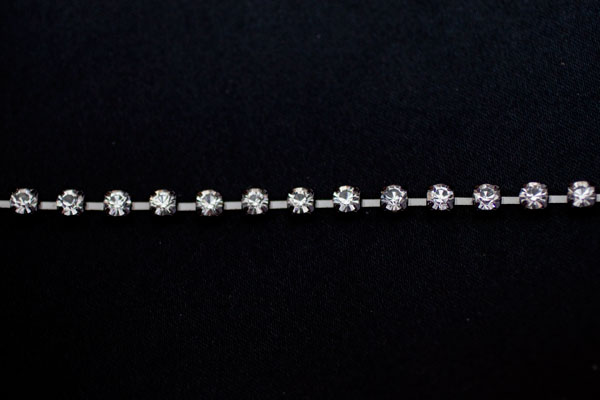 5mm Diamante Black