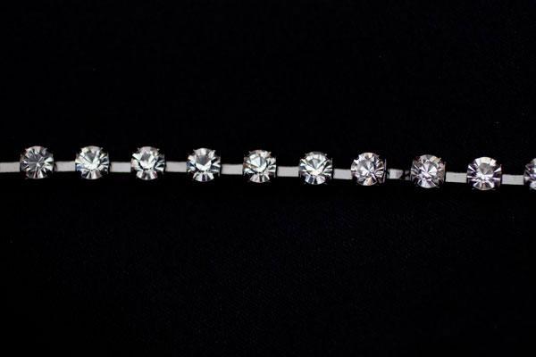 6mm Diamante Black