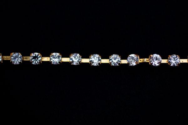 6mm Diamante Gold