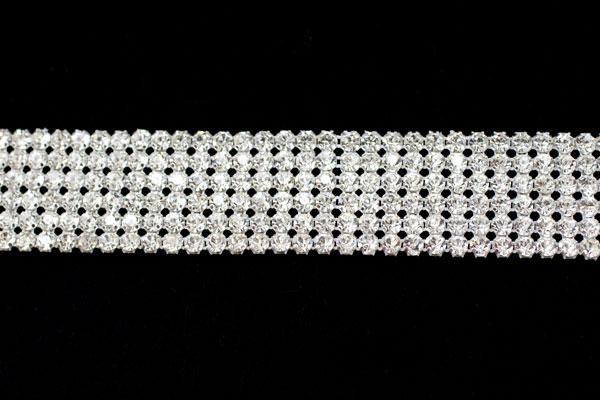 Diamante belt trim