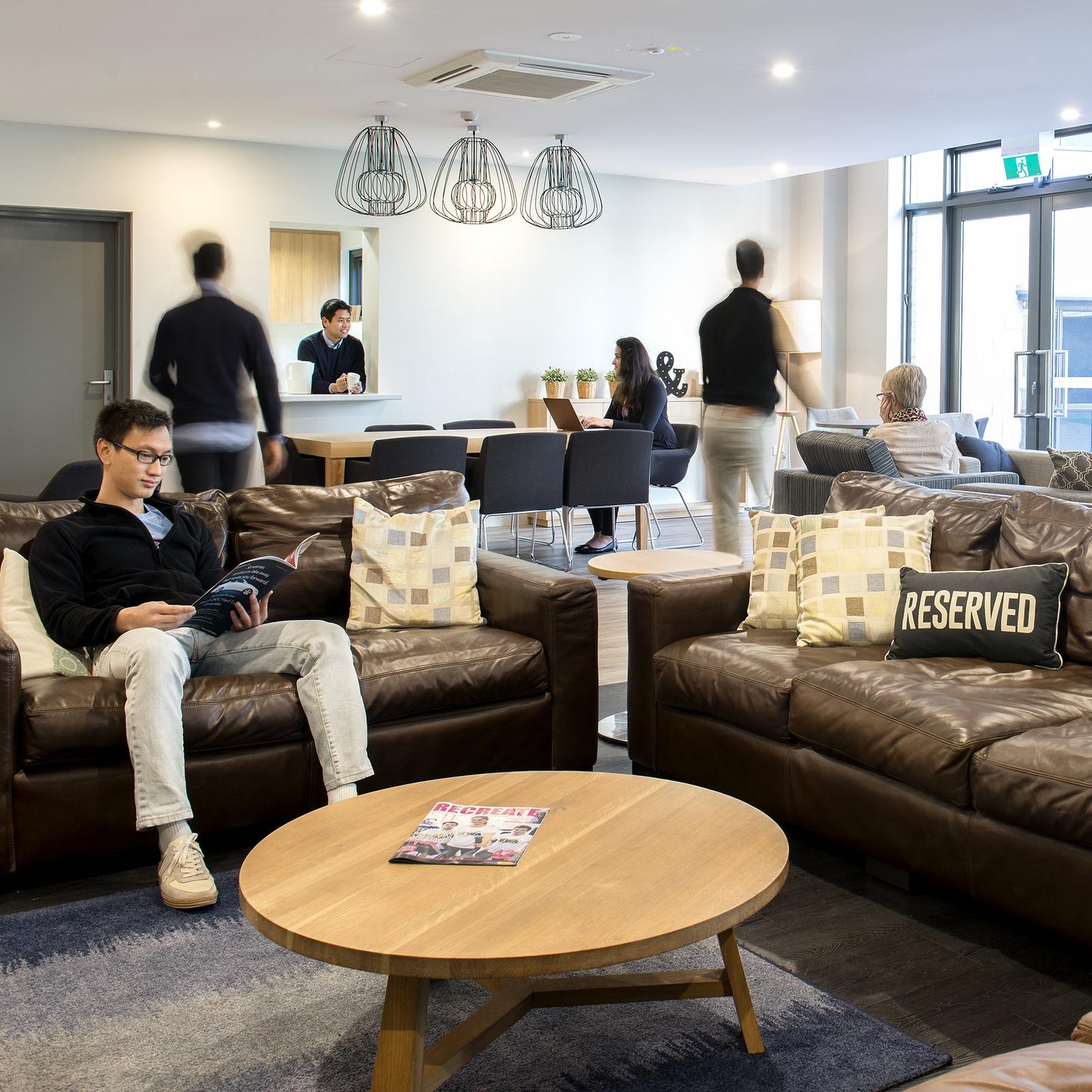 postgraduate study room and common area