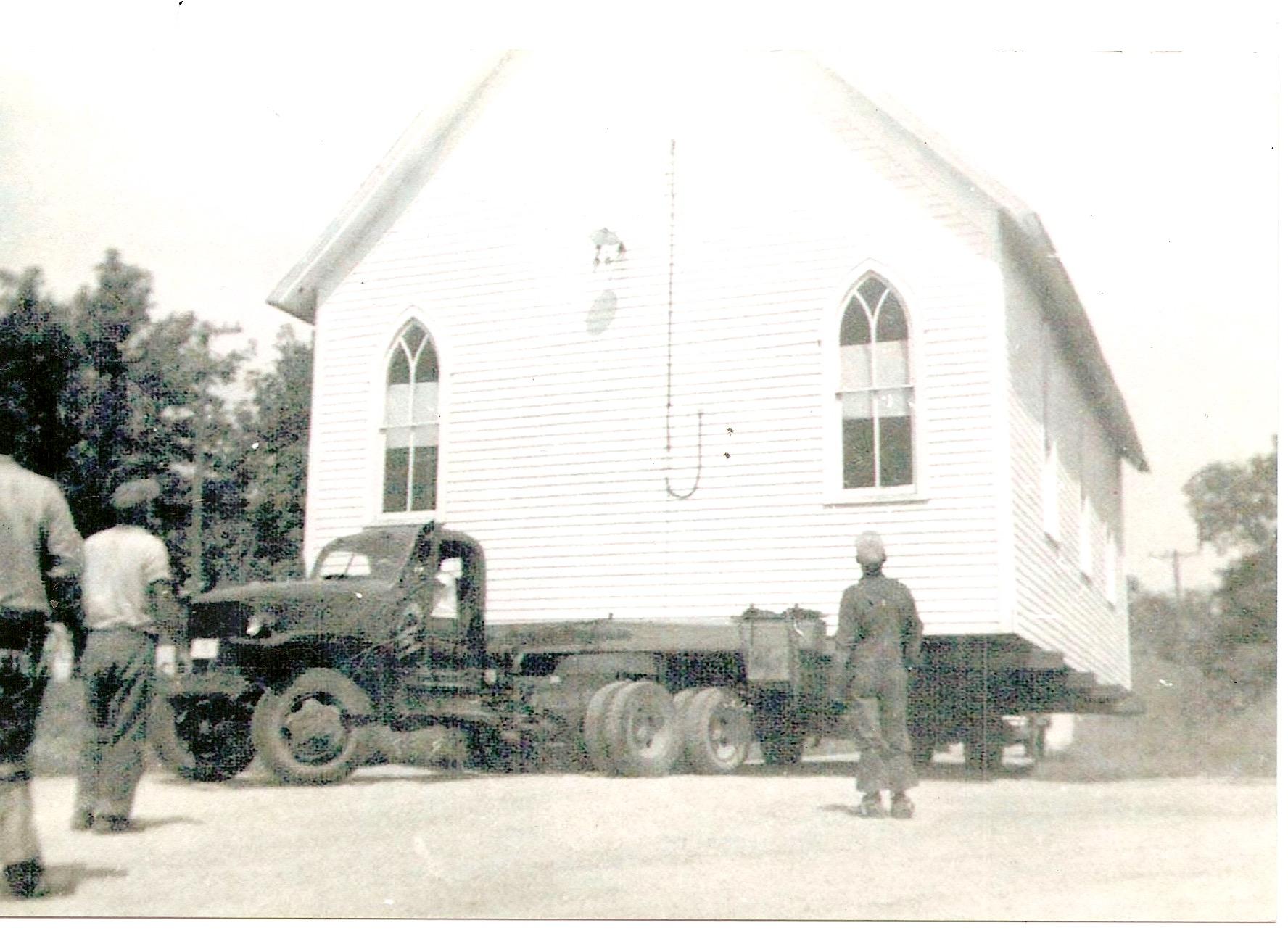 Circa 1955 during the Bert Aylsworth era.