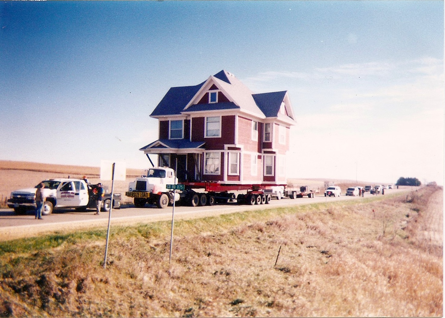 This house was featured on the Haulin House HGTV show during the Ron, Doug, and Dave era.