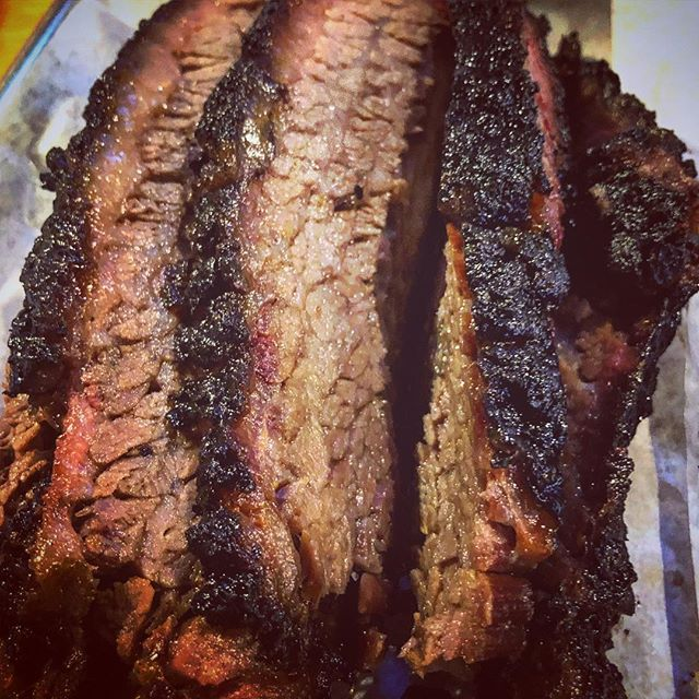 A hefty portion of brisket after a 24hr fast #meat #carnivore #bbq #texasbbq