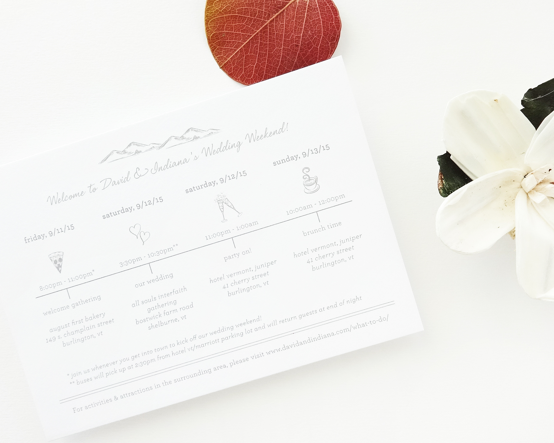 Modified Mountains Wedding Suite