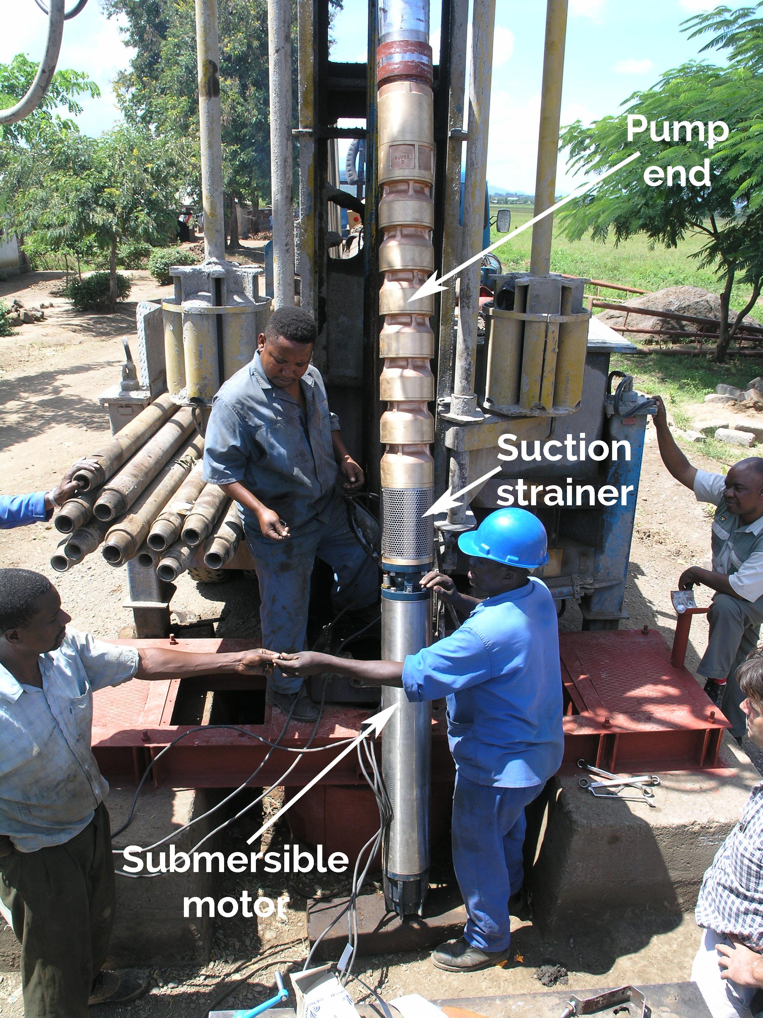 75kW submersible turbine
