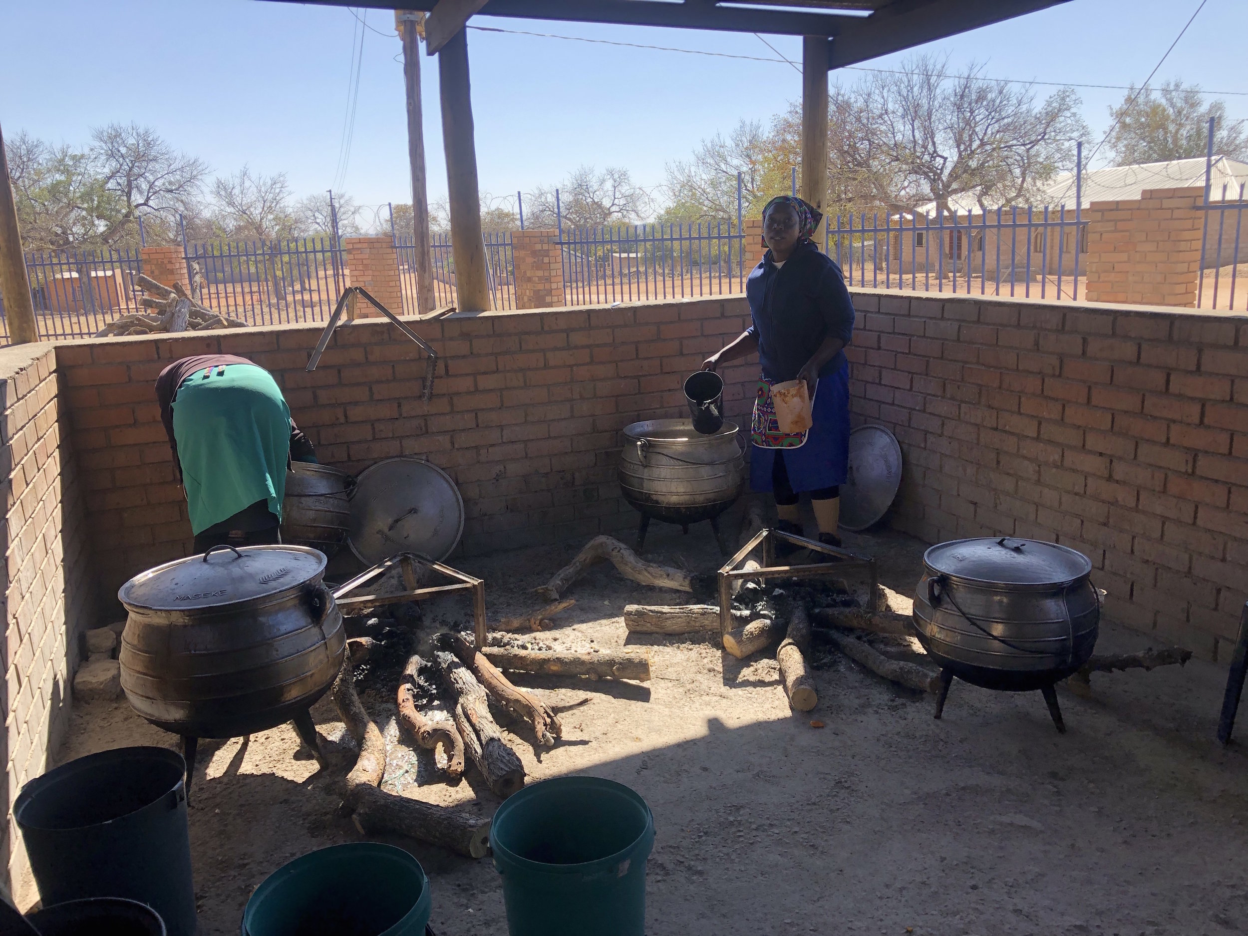 The three gas-burner stoves, large pots and LPG gas burners will greatly assist the parents who operate the programme on a voluntary basis.
