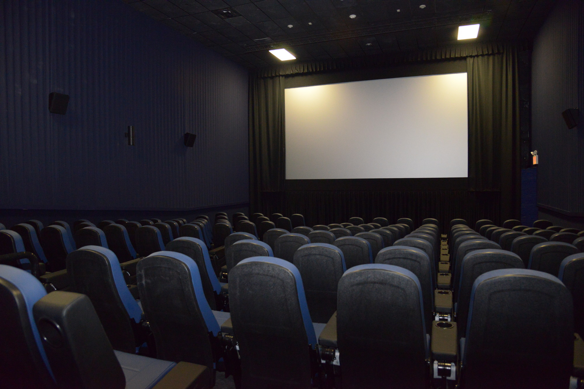 Long Beach Cinemas is expected to reopen on Friday, and the renovations include new movie screens and leather seats. The theater will also offer reserved seating and ticket kiosks.
