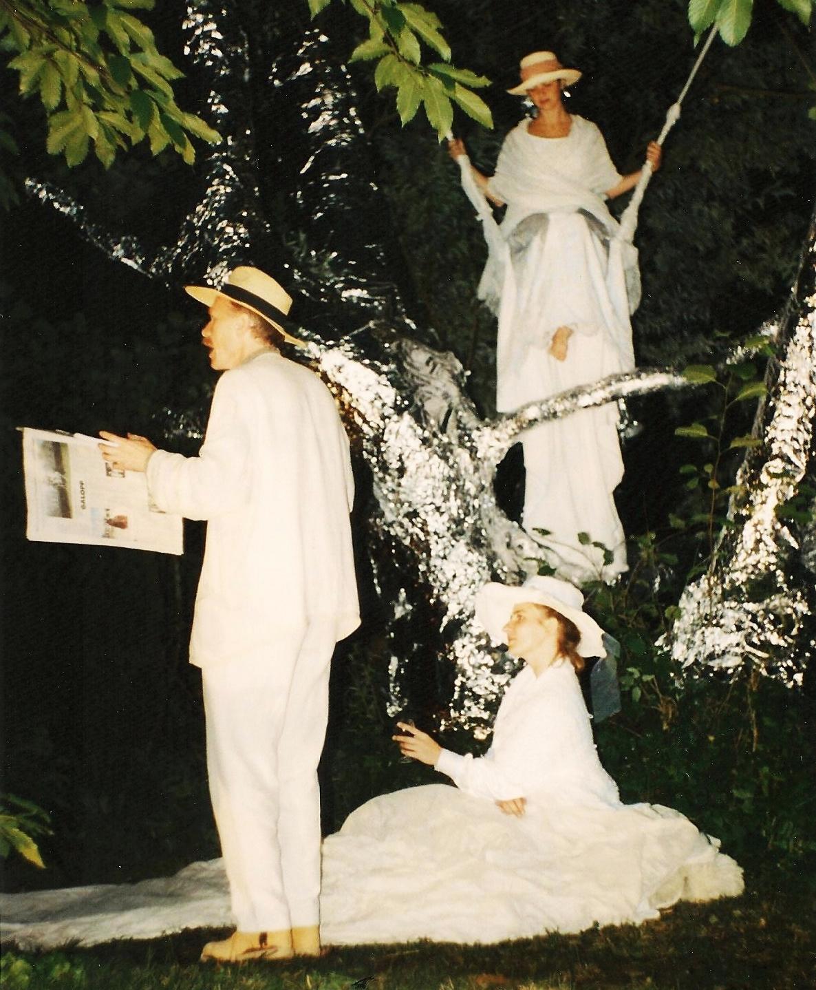 p. 191 - 202. Città Invisibili Unterach, Andreas, Ursula, Felicita, Unterach, 1995.jpg