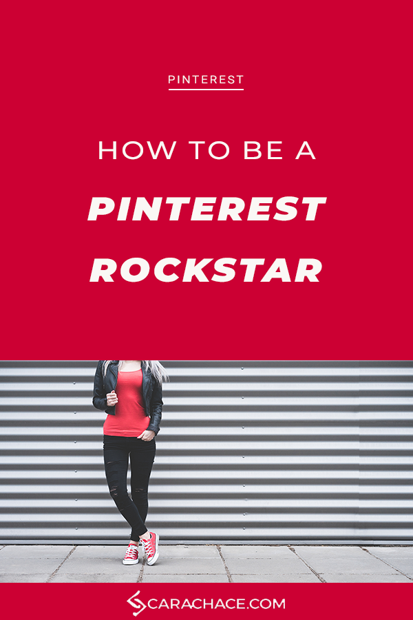 Learn Pinterest marketing for your small business in 4 easy action steps. The keys to understanding how to get your content found on Pinterest. #entrepreneurship #smallbusiness #contentmarketing #pintereststrategy #carachace #rockstarceo