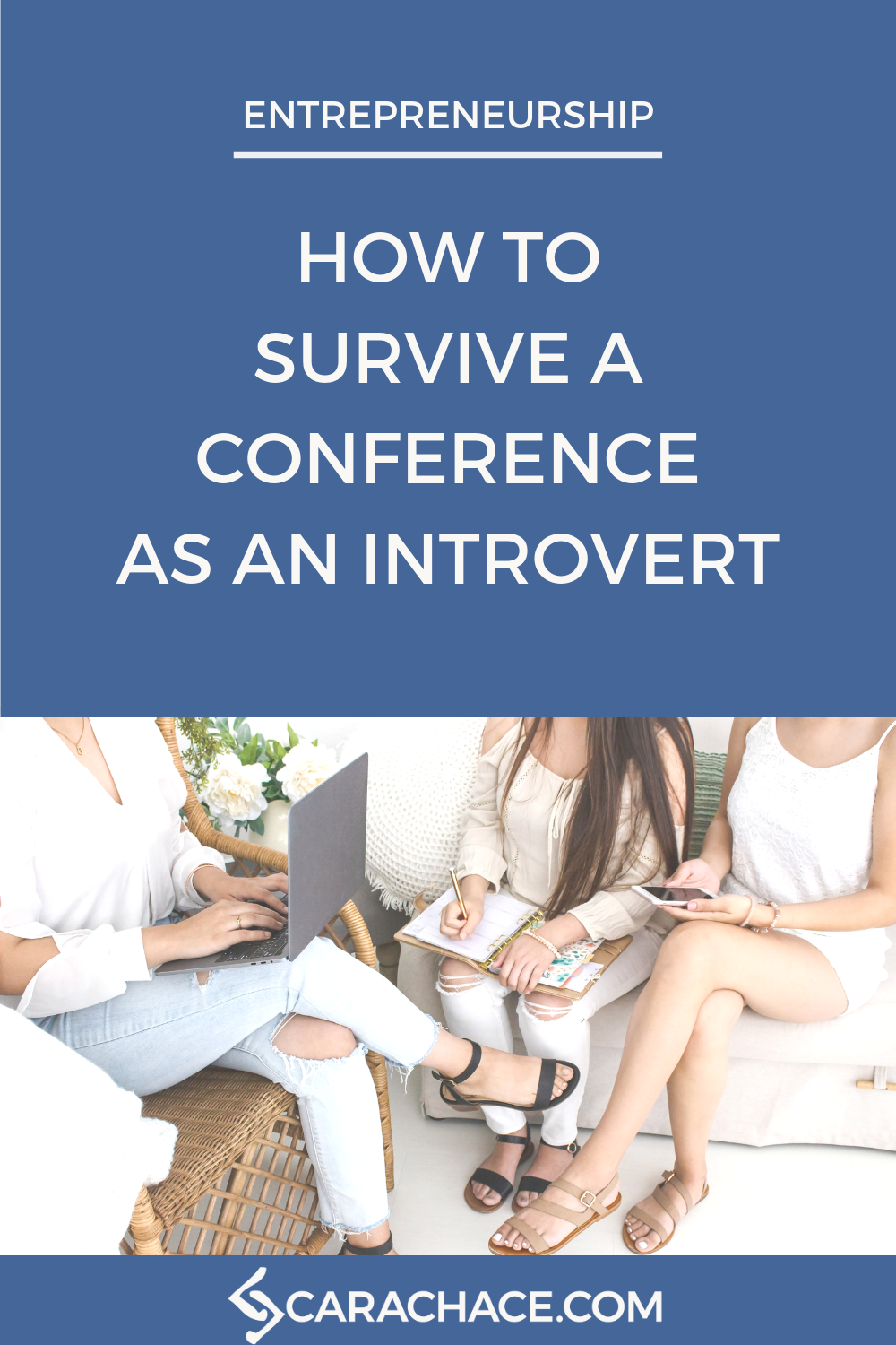 How To Survive a Conference as an Introvert Pin 1.png