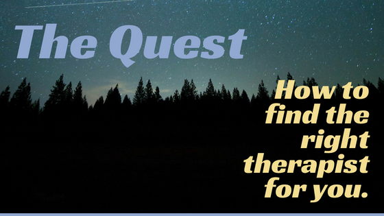 quest to find right therapist