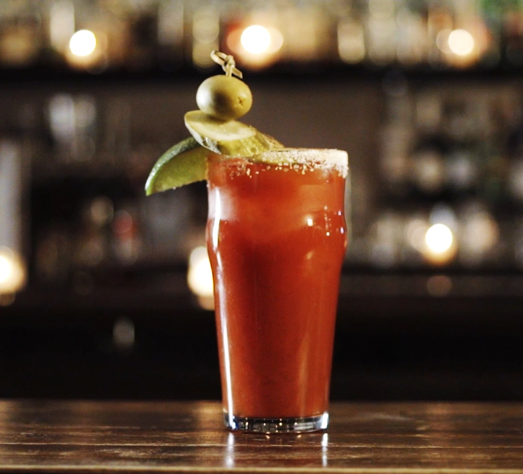 Classic Bloody Mary   Some Salt  1Lemon wedge or1Lime wedge  2 oz Premium Vodka  4 ozTomato juice  2 dashesTabasco Sauce  2 dashesWorcestershire sauce  1 pinchsalt, 1 pinch black pepper, 1 pinch paprika   Pour somesalt onto a small plate. Rub the juicy side of the lemon or lime wedge along the lip of a pint glass. Roll the outer edge of the glass in salt until fully coated. Fill with ice and set aside. Squeeze the lemon orlime wedges into a shaker and drop itin. Add the remaining ingredients and fill with ice. Shake gently and strain into the prepared glass. Garnish with a celery stalk and a lime wedge, or any other thing really.