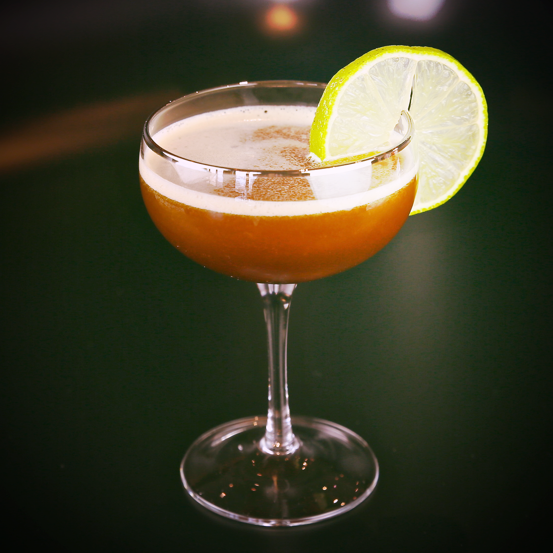 Daiquiri    2 oz R um (Dark Rum preferred for classic)   1 oz Fresh lime juice   1 oz Simple syrup (sugar dissolved in water)   Add all the ingredients to a shaker and fill with ice. Shake, and strain into a chilled Martini glass. Garnish with a lime wheel.