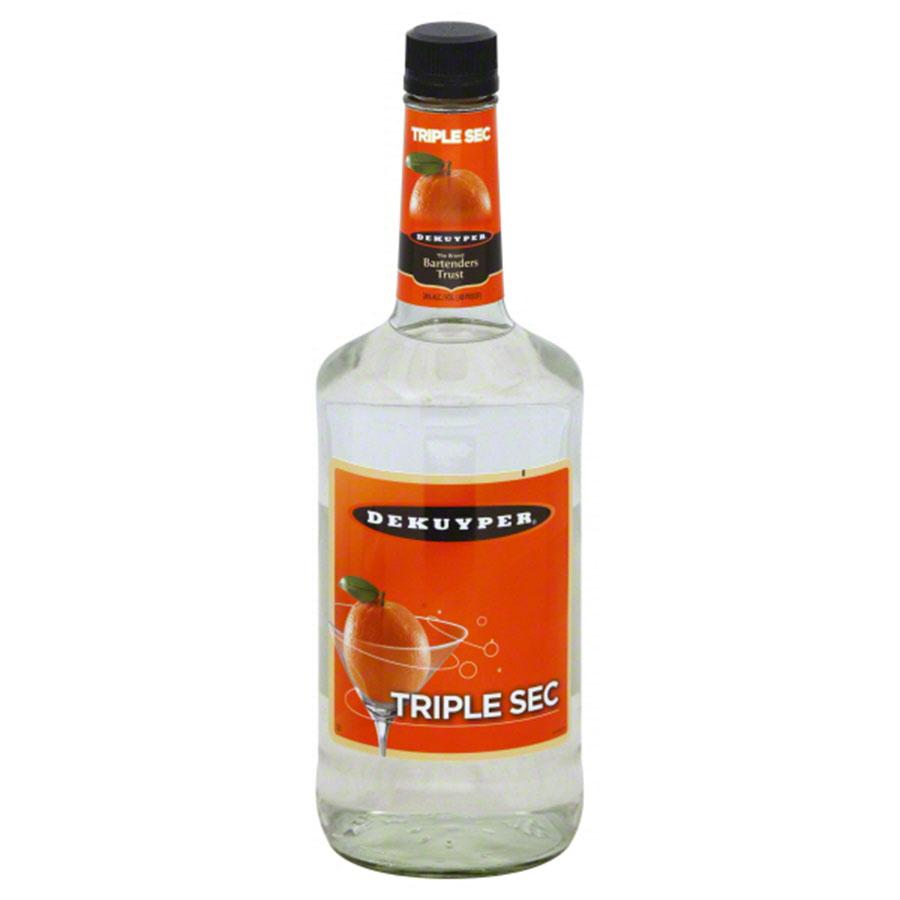 Dekuyper Triple Sec 1 Liter    On Sale/ Was 10.99   Now $5.99