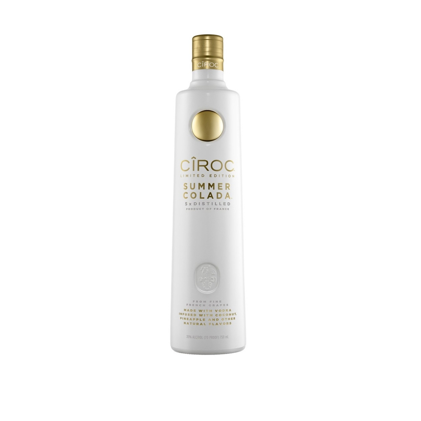 Ciroc Summer Colada 750ML   On Sale/ was 33.99   Now $21.99