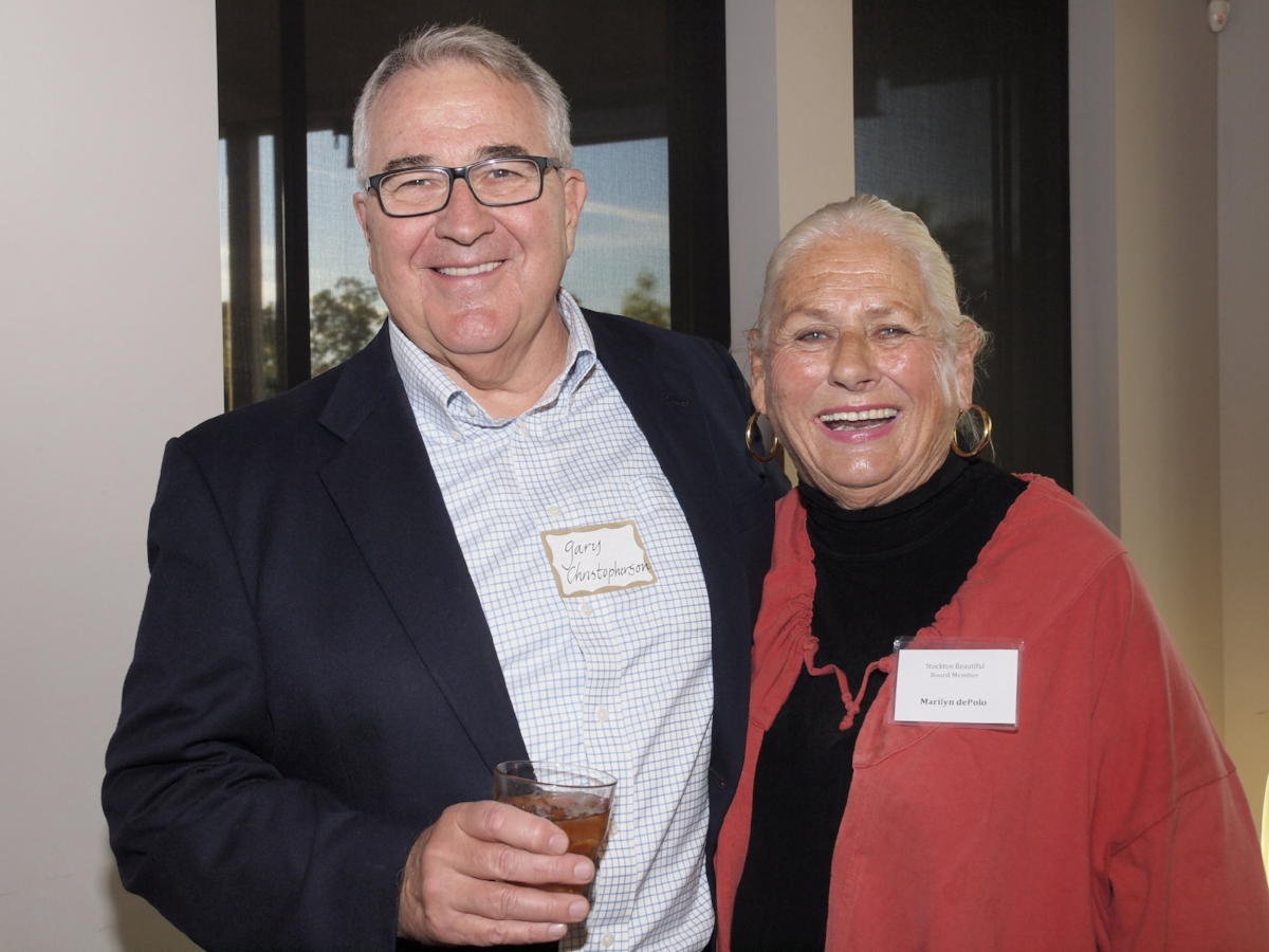 Special thanks to Gary Christopherson andPort of Stockton for providing generous support Gary Christopherson and Marilyn dePolo