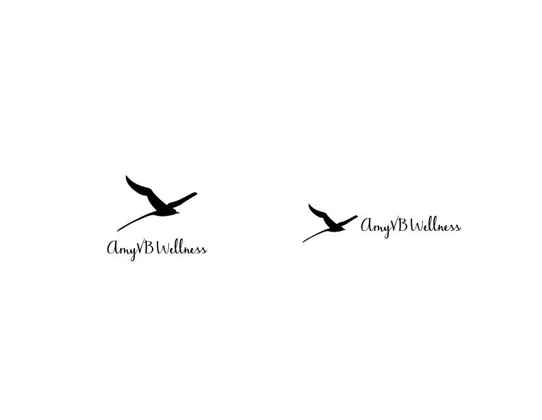 AmyVB Wellness final logo design